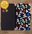 Nineties 90s Print Pattern Wallet Phone Case for iPhone 5 6 7 8 X XS Max XR