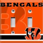 Football Cincinnati Bengals Themed Light Switch Cover ~ Choose Your Cover ~ on eBay