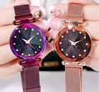 Starry Sky Fashion Watch Waterproof Magnet Strap Buckle Stainless Women gift image