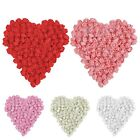 100 Pcs Foam Mini Roses Head Buds Small Flowers Wedding Home Party Decoration