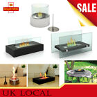 Bio ethanol fireplace Indoor Outdoor Portable Camping Table Top Fire Burner UK
