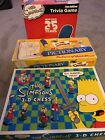 The Simpsons 3 Set Bord Games