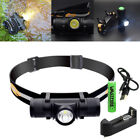 Rechargeble 2000LM L2 LED Zoom Headlamp USB Headlight Head Torch Lamp + 18650