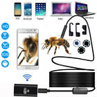 US 8LED WiFi Endoscope Borescope Inspection Camera Snake Tube For Nextbook Tab