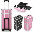 Rolling Cosmetic Case Makuep Organizer Box Makeup Box for Jewelry & Tattoo V6N2