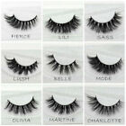 Lux Mink False Lashes Extension Handmade Full Volume Thick Long Layered Fluffy