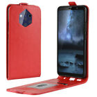 Slim Flip Up Down Leather Card Slot Case For Nokia 9 PureView Shockproof Cover