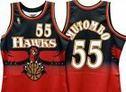 Dikembe Mutombo 55 Atlanta Hawks Jersey Throwback Vintage Classic Retro New