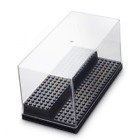 Acrylic Display Case/Box 2 Steps Perspex Dust proof Show LEGO Minifugures and