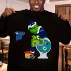 Grinch NFL Official Team Football Fan New England Patriots Shirt Men Shirt M-3XL on eBay