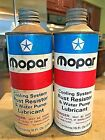 VINTAGE MOPAR CHRYSLER CORP CONE TOP COOLING SYSTEM CANS 2-16 OZ P/N 410/2421778