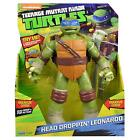 "Ternage Mutant Ninja Turtles Head Droppin' 11"" Leonardo Action Figure"