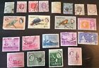 Collection of stamps from Mauritus