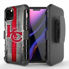 KANSAS CITY Chiefs Armor Belt Clip Rugged Case For iPhone 11 Pro XS Max XR 8 7 $11.99 USD on eBay
