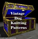 MK2  Dog Coat Sweater K9 Pet Jacket Knitting Pattern Instructions to make