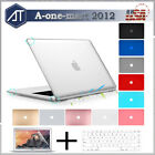 """For Macbook Air 13.3"""" Hard Matte Case Shell  Keyboard Cover  Screen Protector"""