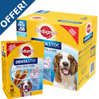 Pedigree Dentastix Dental Dog Oral Chew Treat  Small, Med, Large, 56 or 28