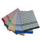 100% Cotton Tea Towels Kitchen Dish Clothes Cleaning Assorted Color Check Design
