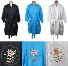 Traditional Chinese Women's Floral Robe Top Embroidered Flower - New