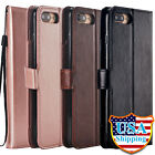 For iPhone 7 & 8 Plus Flip Leather Case w/ 5 Card Slot Wallet Stand Cover Strap