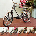 Iron Bicycle Model Bike Ornaments Home Office Decoration Accessory Vintage Diy