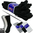 3 6 12 Pairs Mens Womens Heath Diabetic Crew Circulatory Socks 9-11 10-13 13-15