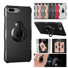 Shockproof PC Rubber Protective Hybird Stand Case Cover For Apple iPhone 7 Plus