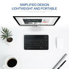 Slim Wireless Bluetooth Keyboard USB Cable For IOS Android Computer PC Tablet P1