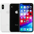 Apple iPhone X - 64GB/256GB (Factory GSM Unlocked; AT&T / T-Mobile) Smartphone