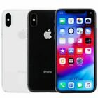 Apple iPhone X Smartphone 64GB 256GB AT&T T-Mobile or Unlocked