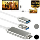 HDMI Mirroring Cable Phone to TV HDTV Adapter For iPhone Samsung S9 Tablet iPad