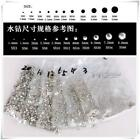 Crystal AB Rhinestones Glass Flatback Clear Strass Stones for Nail Art Phone
