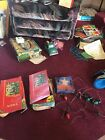 4 Vintage Christmas Decorrations Stand Of Lights Noma Lights And Paramount Tree