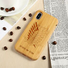 Carved Wood Anime Dragon Ball Z Bamboo Phone Case For iPhone Xs Max R 6/7/8 Plus