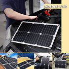 5/10/15/20/30W 12-18V Solar Panel Battery Charger RV Camping Traveling Yacht