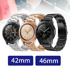 Luxury Stainless Steel Wrist Band Watch Strap for Samsung Galaxy Watch 42mm/46mm