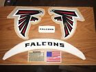 ATLANTA Falcons (2017)  F/S-XL CURRENT HELMET DECALS with EXTRAS. on eBay