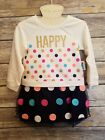 Healthtex Toddler Girls Dress Happy Polka Dot Party Birthday Spring Tulle - 3T