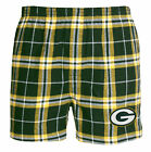Green Bay Packers Huddle Plaid Flannel Boxers on eBay