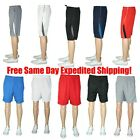 Kyпить M-5X 3/5/8 LOT MENS ATHLETIC JERSEY 2 POCKET MESH SHORTS GYM WORKOUT BASKETBALL  на еВаy.соm