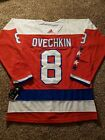 8 Alexander Ovechkin Washington Capitals Alternate Jersey