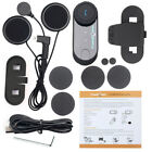 Freedconn Motorcycle Intercom Bluetooth BT Helmet Interphone 3 Riders Headset FM