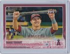 2015 Topps Update MIKE TRUOT All-Star MVP Pink #/50 SSP Los Angeles Angels Star
