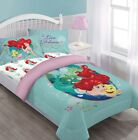 NEW TWIN/FULL DISNEY COLLECTION BED COMFORTER SET MOVIE CARTOONS KIDS FAVORITES