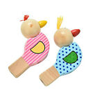 Wooden Animal Bird Whistle Kids Musical Instrument Educational Whistle Toy L