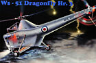 AMP Ws-51 Dragonfly Hr.3 1/48 Plastic Model FROM JAPAN