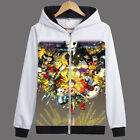 Cosplay Unisex Game Undertale Sans/Papyrus Sweatshirt Hoodie Jacket Coat #GT20