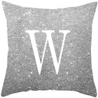 A-Z Letters Cushion Throw Pillow Case Cover Home Sofa Bed Decor 45*45cm