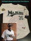 NEW Majestic Dontrelle Willis Florida Marlins Mens 2003 World Series Jersey