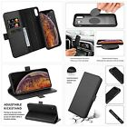 ZOVER Compatible with Phone XS Max Detachable Leather Wallet Case Cover Wireless